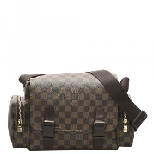 Louis Vuitton Damier Ebene Canvas Reporter Melville Bag