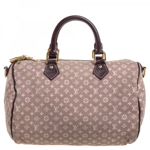 Louis Vuitton Monogram Idylle Canvas Bandouliere Speedy 30 Bag