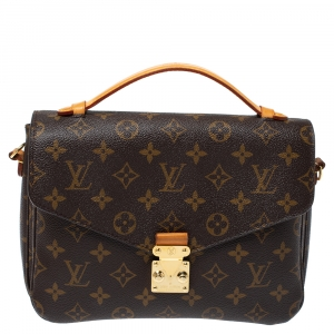 Louis Vuitton Monogram Canvas Metis Pochette Bag