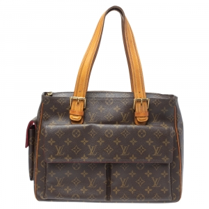 Louis Vuitton Monogram Canvas Multiple Cite Bag
