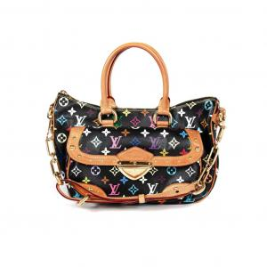 Louis Vuitton Black Multicolor Canvas Murakami Rita Bag