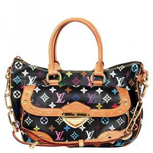 حقيبة لوي فيتون موراكامي ريتا كانفاس أسود متعدد الألوان