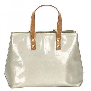 Louis Vuitton Grey Monogram Vernis Reade PM Bag