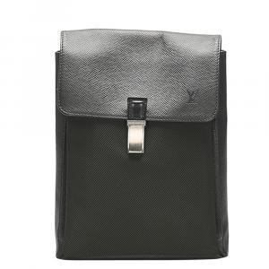 Louis Vuitton Black Taiga Leather Saratov PM Bag