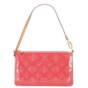 Louis Vuitton Red Monogram Vernis Lexington Pochette Bag