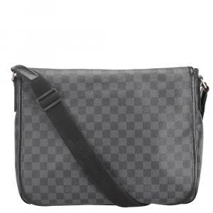Louis Vuitton Damier Graphite Canvas Daniel GM Bag