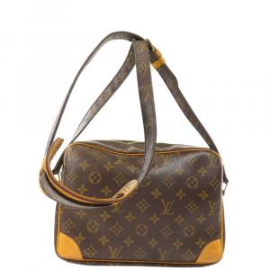 Louis Vuitton Brown Monogram Canvas Nile Bag