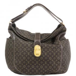 Louis Vuitton Brown Monogram Idylle Canvas Romance Hobo Bag