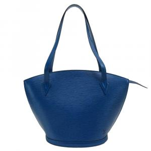 Louis Vuitton Blue Epi Leather Saint Jacques Long Strap PM Bag