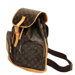 Louis Vuitton Brown Monogram Canvas Sac Bosphore Backpack Bag