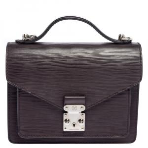 Louis Vuitton Quetsche Epi Leather  Monceau BB Bag