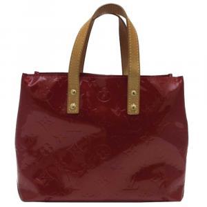 Louis Vuitton Red Monogram Vernis Reade PM Bag