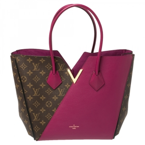 Louis Vuitton Aurore Monogram Canvas and Leather Kimono MM Bag