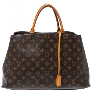 Louis Vuitton Monogram Canvas Montaigne GM Bag