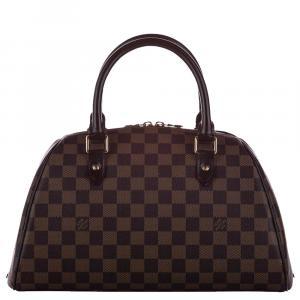 Louis Vuitton Brown Damier Ebene Canvas Ribera MM Bag
