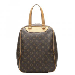 Louis Vuitton Brown Monogram Canvas  Excursion Bag