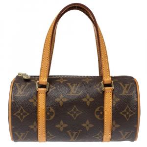 Louis Vuitton Monogram Canvas Papillon 19 Bag