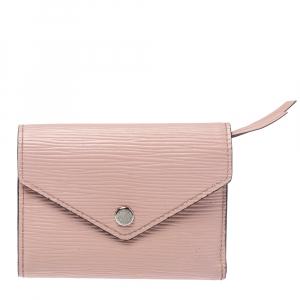 Louis Vuitton Rose Ballerine Epi Leather Victorine Wallet
