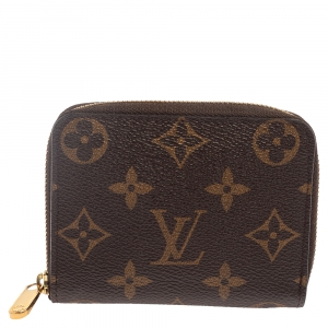 Louis Vuitton Monogram Canvas Zippy Coin Purse