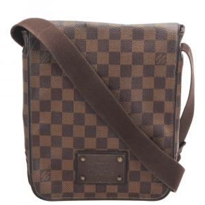 Louis Vuitton Brown Damier Ebene Canvas Brooklyn PM Bag