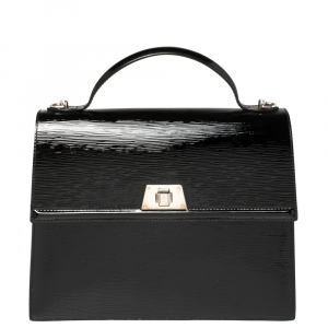 Louis Vuitton Black Electric Epi Leather Sevigne GM Bag