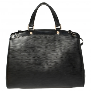 Louis Vuitton Black Epi Leather Brea GM Bag