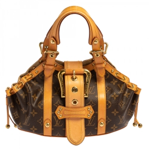 Louis Vuitton Monogram Canvas Theda GM Bag