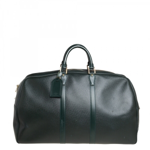 Louis Vuitton Epicea Green Taiga Leather Kendall GM Bag