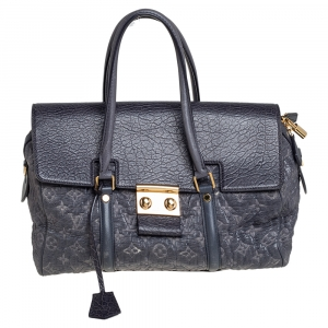 Louis Vuitton Gris Monogram Limited Edition Volupte Psyche Bag