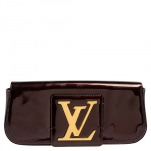 Louis Vuitton Rouge Fauviste Vernis Sobe Clutch