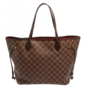 Louis Vuitton Damier Ebene Canvas Neverfull NM MM Bag