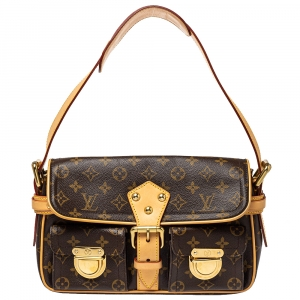 Louis Vuitton Monogram Canvas Hudson PM Bag