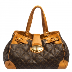 Louis Vuitton Brown Monogram Canvas Etoile Shopper bag
