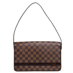 Louis Vuitton Damier Ebene Canvas Tribeca Long Bag