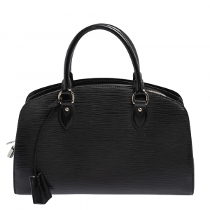 Louis Vuitton Black Epi Leather Pont Neuf PM Bag