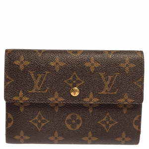 Louis Vuitton Monogram Sarah International Tri-fold Wallet