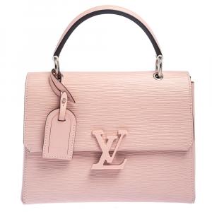 حقيبة لوي فيتون غرنل جلد إيبي باليرين وردي PM
