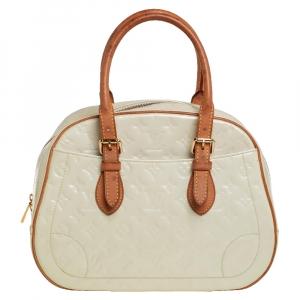 Louis Vuitton Perle Monogram Vernis Summit Drive Bag