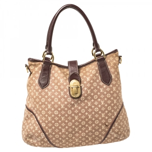 Louis Vuitton Sepia Monogram Mini Lin Canvas Elegie Bag