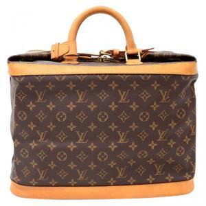 Louis Vuitton Monogram Canvas Cruiser 40 Travel Bag