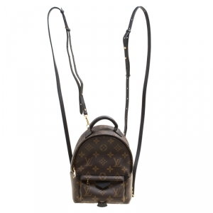 Louis Vuitton Monogram Canvas Mini Palm Springs Backpack