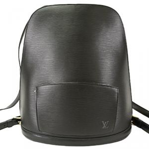 Louis Vuitton Noir Epi Leather Gobelins Backpack