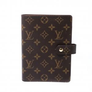 Louis Vuitton Monogram Canvas Medium Ring Agenda Cover