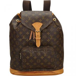 Louis Vuitton Monogram Montsouris Canvas GM Backpack