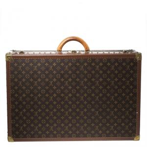 Louis Vuitton Monogram Canvas Alzer 70 Luggage Trunk