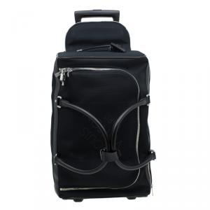 Louis Vuitton Black Damier Geant Canvas Eole Rolling Suitcase 50