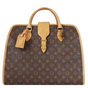 Louis Vuitton Monogram Canvas Rivoli Soft Briefcase