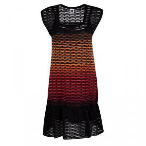 M Missoni Multicolor Knit Sleeveless Dress S