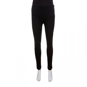 M Missoni Black Stretch Jersey Tapered Leggings M