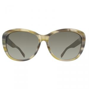 Marc by Marc Jacobs Brown Horn MMJ445FS Square Sunglasses